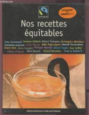 Nos Recettes Equitables - Couverture - Format classique