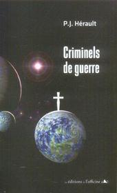 Criminels de guerre - Intérieur - Format classique