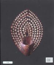 Afrique - l'art des formes - 4ème de couverture - Format classique