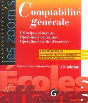 Zoom'S Comptabilite Generale 10eme - Intérieur - Format classique