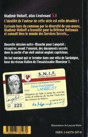 Langelot 07 - Langelot Pickpocket - 4ème de couverture - Format classique