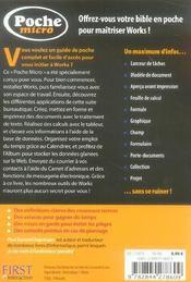 Poche Micro Works 2006 - 4ème de couverture - Format classique