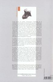 La modernite romantique - 4ème de couverture - Format classique