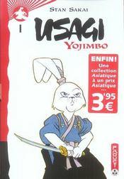 Usagi yojimbo t.1 - Intérieur - Format classique