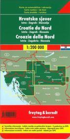 Croatie Nord Istra Zagreb Slov - 4ème de couverture - Format classique