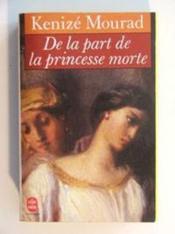 De La Part De La Princesse Morte - Couverture - Format classique