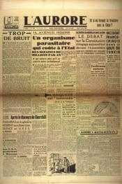 Aurore (L') N°483 du 07/03/1946 - Couverture - Format classique