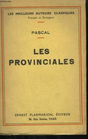 Les Provinciales. (Texte De 1656 - 1657 ). - Couverture - Format classique