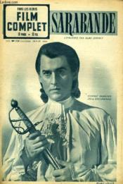 Tous Les Jeudis - Film Complet N° 225 - Sarabande - Couverture - Format classique