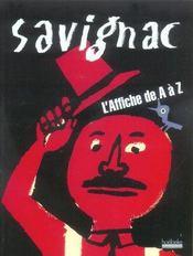 Savignac ; l'affiche de A à Z - Intérieur - Format classique