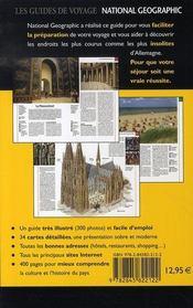 Allemagne - 4ème de couverture - Format classique
