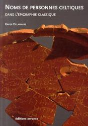 Noms de personnes celtiques dans l'épigraphie classique - Intérieur - Format classique