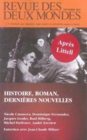 Histoire, roman, dernières nouvelles - Couverture - Format classique