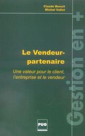 Le vendeur-partenaire – Claude Benoit, Claude Benoit et Michel Vallet