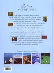 Le Val De Loire - 4ème de couverture - Format classique