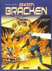 Sam Bracken t.1 ; la frontière du silence - Intérieur - Format classique