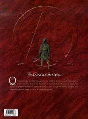 Le triangle secret - I.N.R.I. t.4 ; résurrection - 4ème de couverture - Format classique