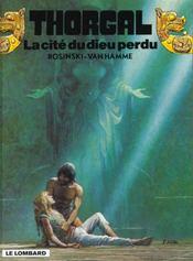 Thorgal T.12 ; La Cité Du Dieu Perdu - Intérieur - Format classique