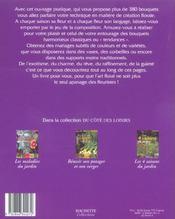 Creer Ses Bouquets - 4ème de couverture - Format classique