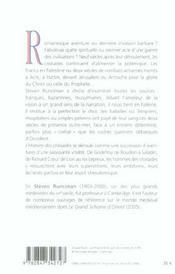 Histoire Des Croisades - 4ème de couverture - Format classique