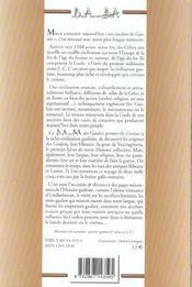 Gaulois - 4ème de couverture - Format classique