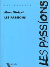 Les passions - Couverture - Format classique