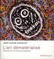 Art dématérialisé ; reproduction des Arts en photo et vidéo - Intérieur - Format classique