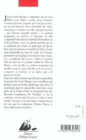 Ville De Pierre (La) - 4ème de couverture - Format classique