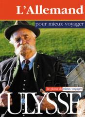 L'allemand pour mieux voyager - Couverture - Format classique