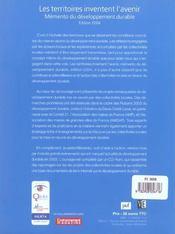 Les Territoires Inventent L'Avenir - 4ème de couverture - Format classique