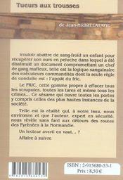 Tueurs Aux Trousses (2e Edition) - 4ème de couverture - Format classique