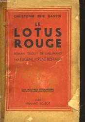 Le Lotus Rouge - Couverture - Format classique