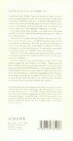 L'Anneau Maudit - 4ème de couverture - Format classique