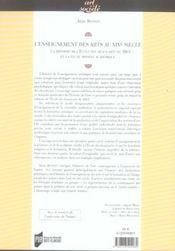 Enseignement Des Arts Au Xixe Siecle. La Reforme De L Ecole Des Beaux Arts De 18 - 4ème de couverture - Format classique