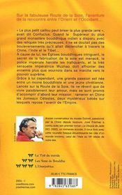 L'Imperatrice De La Soie - Tome 2 - Les Yeux De Bouddha - 4ème de couverture - Format classique