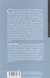 Charles Le Temeraire - 4ème de couverture - Format classique