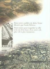Revue Jules Verne N.25 ; La Science En Drame - 4ème de couverture - Format classique