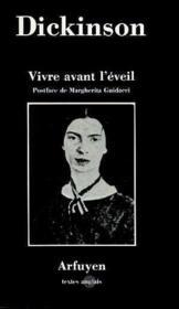 Vivre Avant L'Eveil - Couverture - Format classique