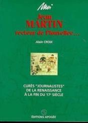 Moi, Jean Martin, recteur de Plouvellec - Couverture - Format classique
