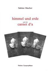 Himmel und erde - Couverture - Format classique