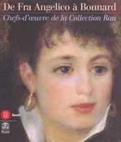 La collection rau ; de fra angelico a bonnard - Intérieur - Format classique