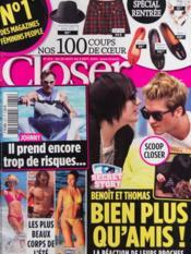 Closer N°272 du 28/08/2010 - Couverture - Format classique