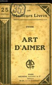 Art D'Aimer - Couverture - Format classique