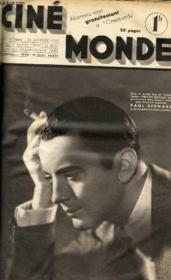 CINEMONDE - 8e ANNEE - N° 325 - UN MAGICIEN! STAREWITCH - GROS PLAN: JOAN BLONDELL, celle qui fut sage... - l'homme qui devrait être gai: PITOUTO - LES FILMS DE CINEMONDE: FILLE D'AMERIQUE avec BILLIE BURKE, FRANCES DEE... - Couverture - Format classique