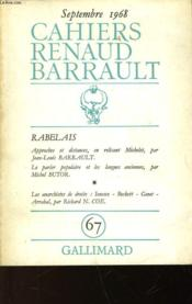 Rabelais - N°67 - Couverture - Format classique
