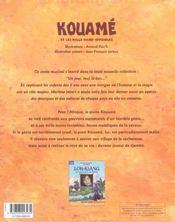 Kouame - 4ème de couverture - Format classique