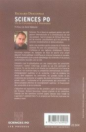 Sciences Po ; de la Courneuve à Shanghai - 4ème de couverture - Format classique