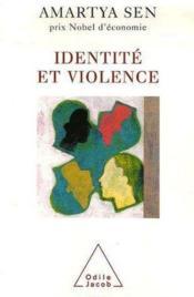 Identité et violence - Couverture - Format classique