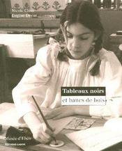 Tableaux Noirs Et Bancs De Bois - Intérieur - Format classique
