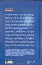 Active Galactic Nuclei In Their Cosmic Environment -Jenam 99 - 4ème de couverture - Format classique